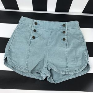 5 for $25 BDG UO Blue Nautical Style Dolphin Short